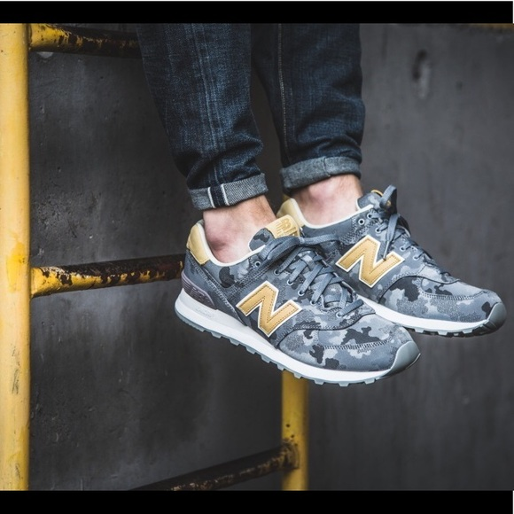 New Balance 574 Camo Classic Sneakers Men's Shoes